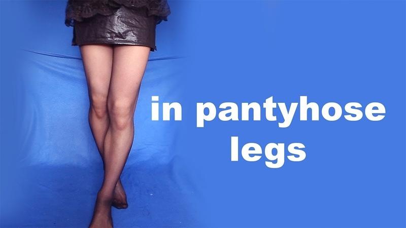 Fitness boy in pantyhose legs Crossdresser Shemale