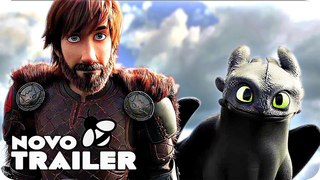 How to Train Your Dragon 3 Trailer Português Legendado (2018) Como treinar o seu Dragão 3
