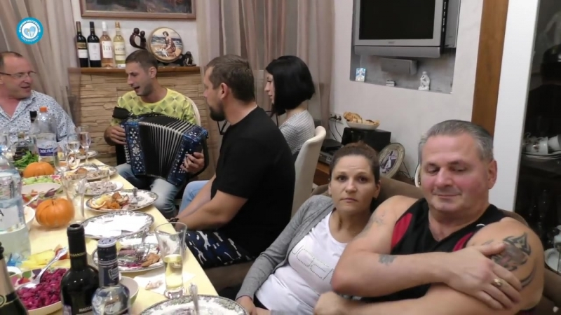 Алексей Симонов Вечерняя застольная