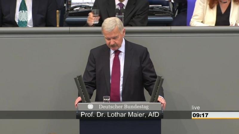 Lothar Maier AFD - Es besteht der Verdacht- dass hier ein mangelhaftes Gesetz durchgewunken wird-