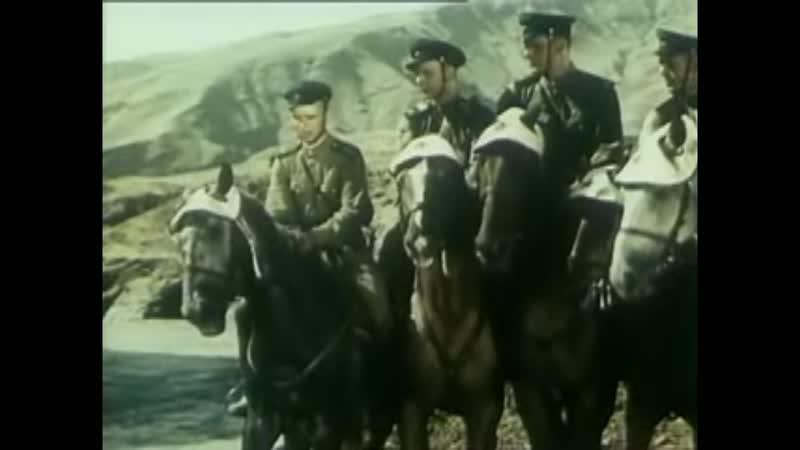 Прыжковая тренировка пограничников Из фильма Застава в горах