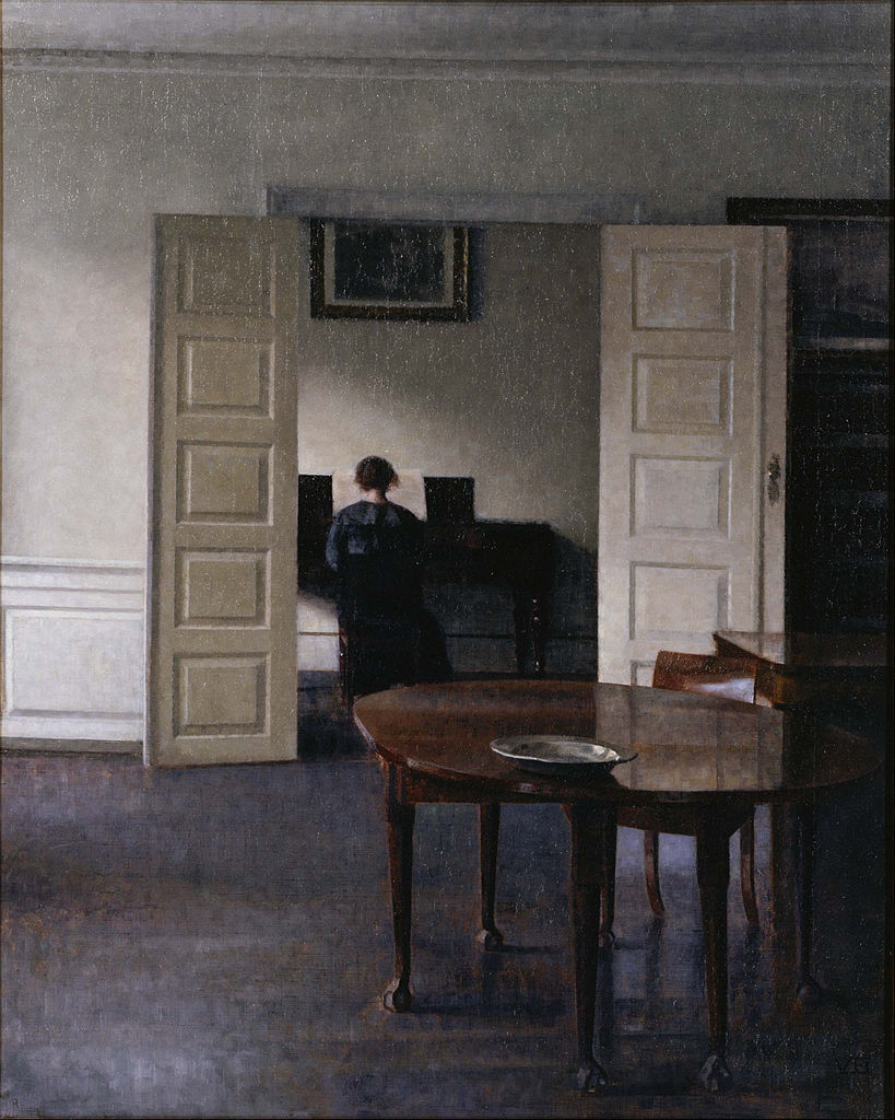 Вильгельм Хаммерсхёй (1864 — 1916)