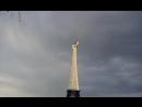 У Эйфелевой башни в Соловьёвском парке повреждён Герб
