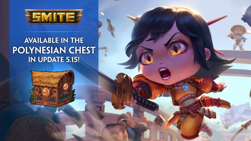 SMITE - New Skins in the 5.15 Polynesian Chest!