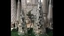ЁЛКА из стеклянной мозаики!🎄Christmas tree of glass mosaic