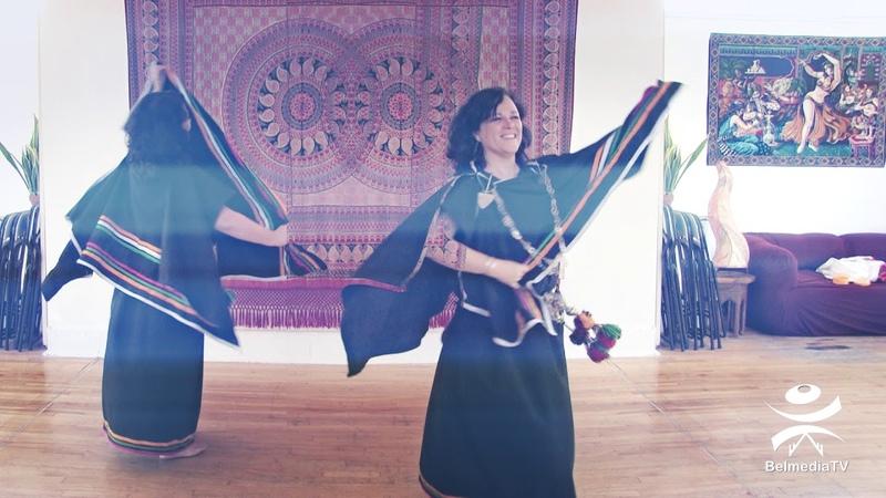 Danse chaoui avec Samentha de la troupe Sanaa / Montréal