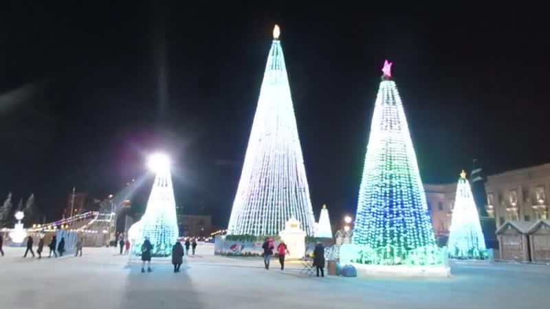 Новогодняя пл Куйбышева 2019 г