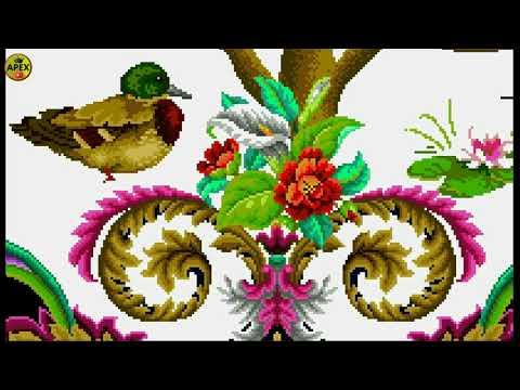 Tree of life cross stitch 2 _ diamond painting s pattern _ artwork of tree of life
