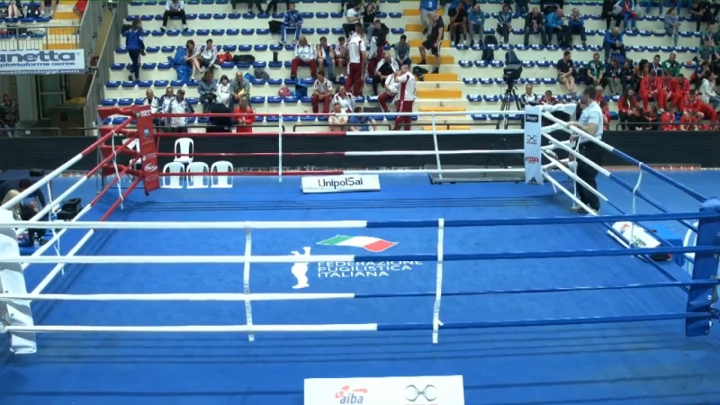 Euro Youth Boxing Championships 2018 Day 1 RING A - SESSION 1 - 2