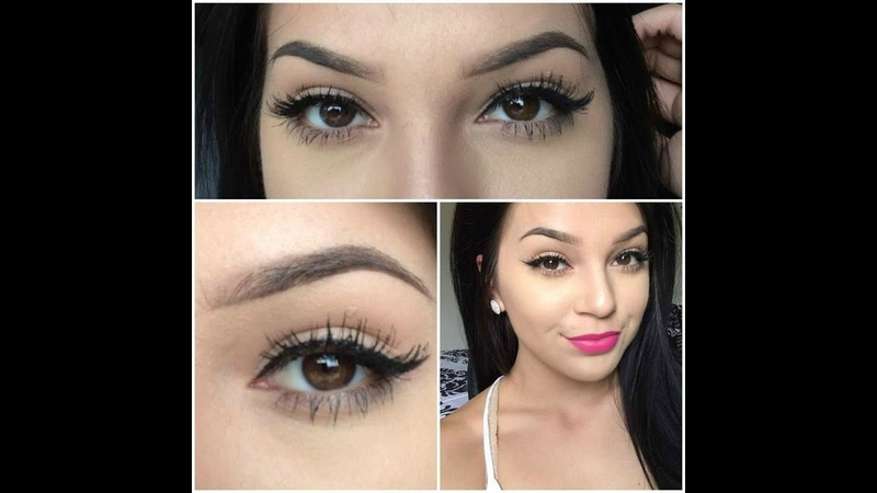 How To Eyeliner False Eyelashes For Beginners