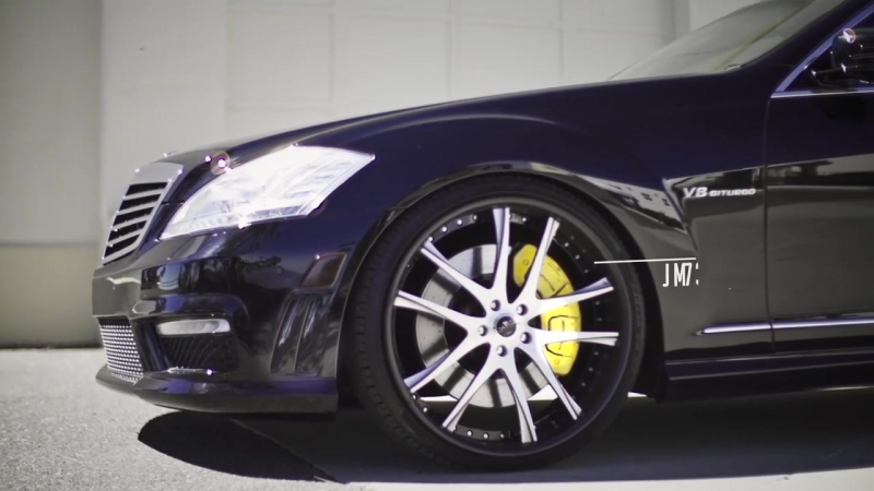 Mercedes Benz S63 AMG on Savini SV40 C Wheels by California Wheels