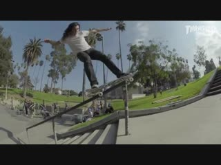 Cole Wilson / 50-50 up a Rail, Rock to Fakie 50-50