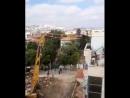 Israeli occupation authorities demolished Palestinian property in Shufat neighborhood near the occupied city of Jerusalem