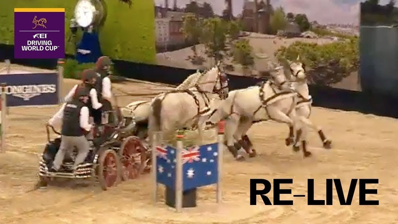 RE-LIVE | Driving | Maastricht | FEI Driving World Cup™