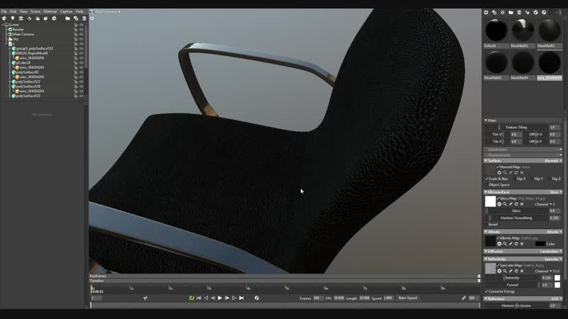 MT office chair