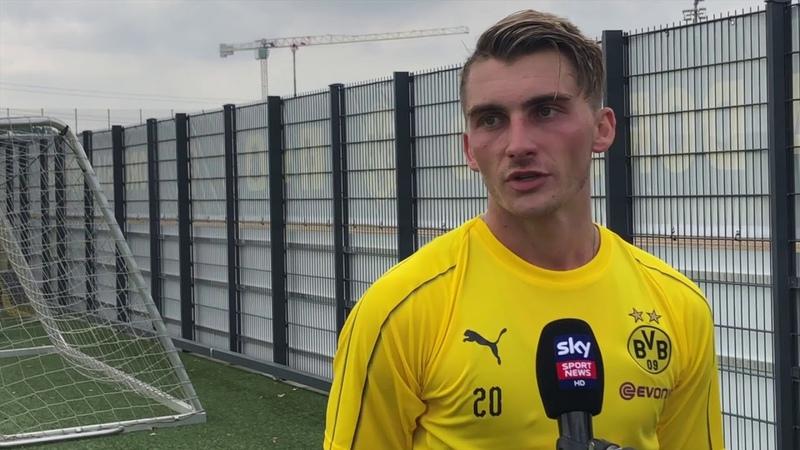 Maximilian Philipp über den neuen BVB und Lucien Favre