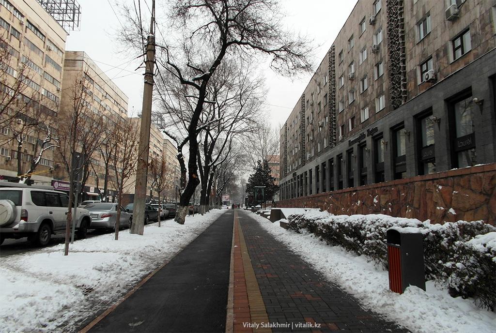 Улица Гоголя, Алматы 2018