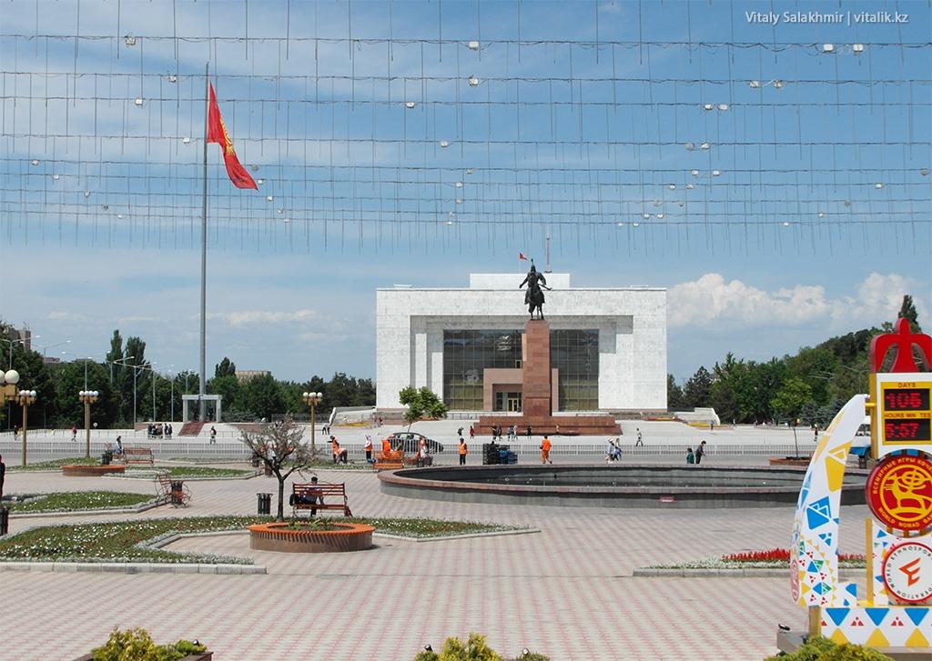 Бишкек, май 2018