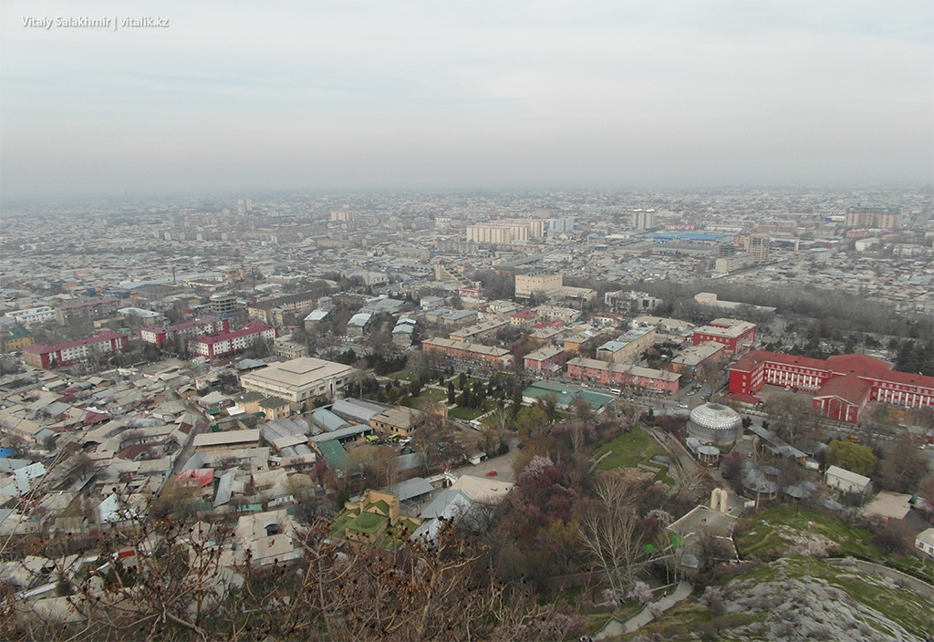 Город Ош, март 2018