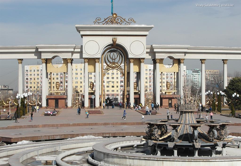 Парк Первого Президента, Алматы 2018