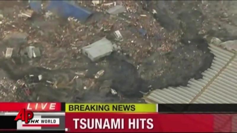 Цунами Япония - 2011. Землетрясение и цунами в Японии 2011 видео.mp4