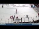 Ловкий случайный гол в хоккее mp4