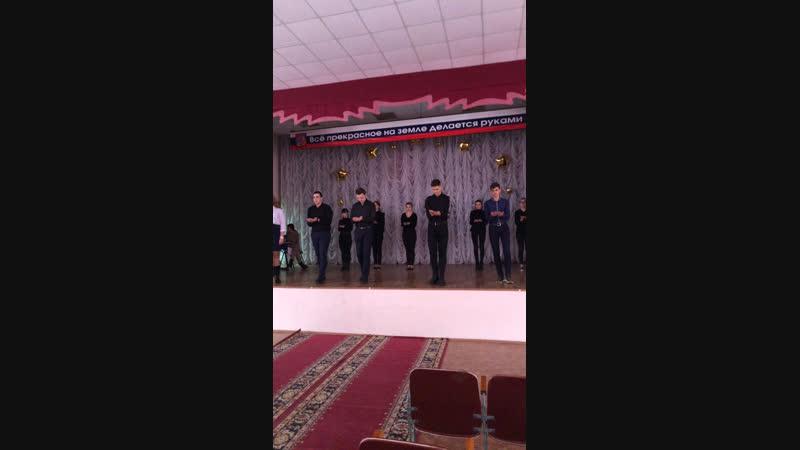 Репетиция Тематической программы, посвящённой 75 годовщине снятия блокады Ленинграда