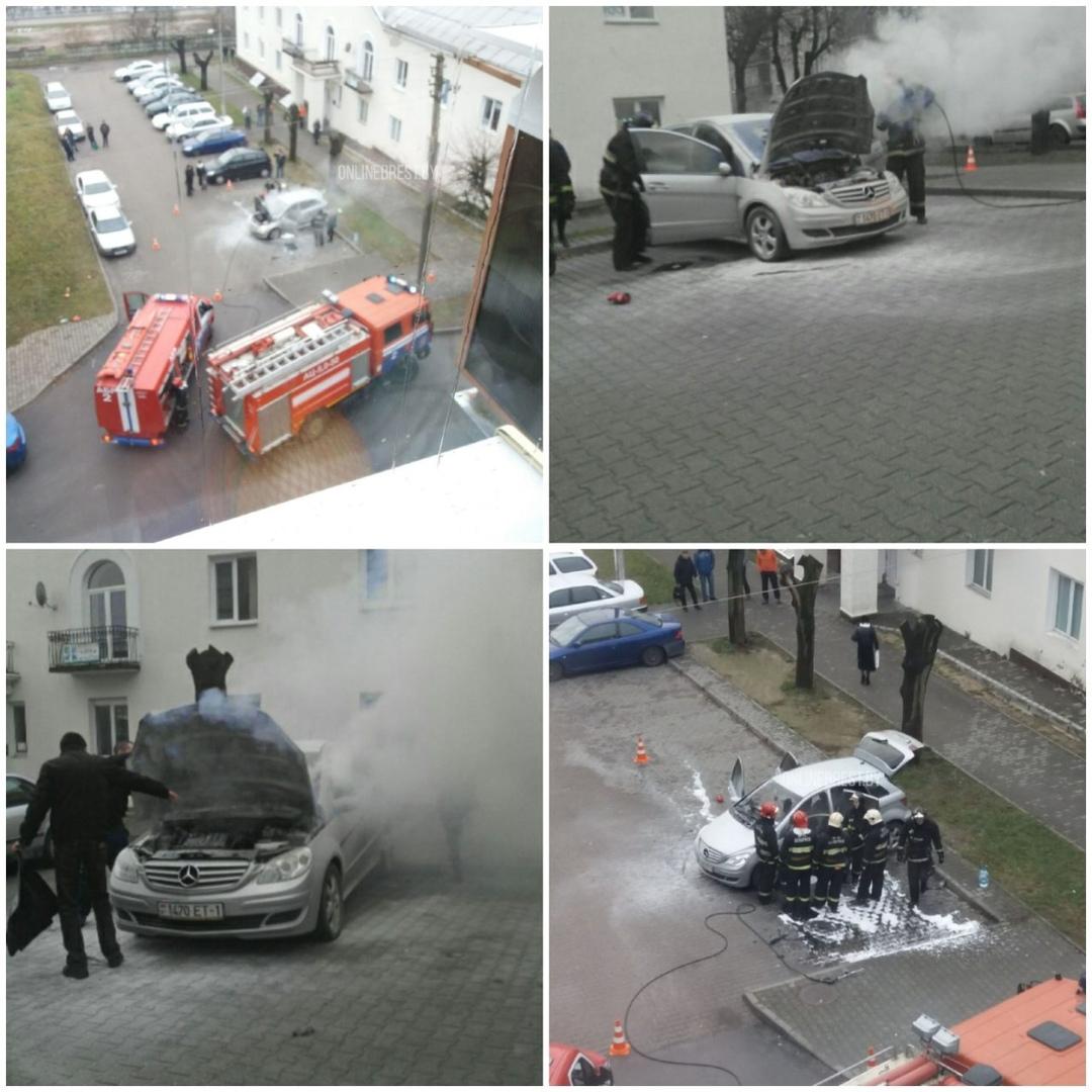 На ул. Интернациональной загорелся автомобиль - его потушили, конечно