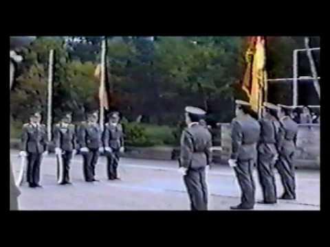 Der letzte Appell Wachablösung Oder wie die NVA zur Bundeswehr wurde