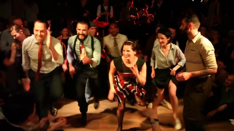 Баттл. Буги вуги. Jazz Roots 2015 - Teachers Battle Outro with the Hot Sugar Band