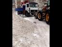 Трактор виртуально наматывает пробег в Тольятти