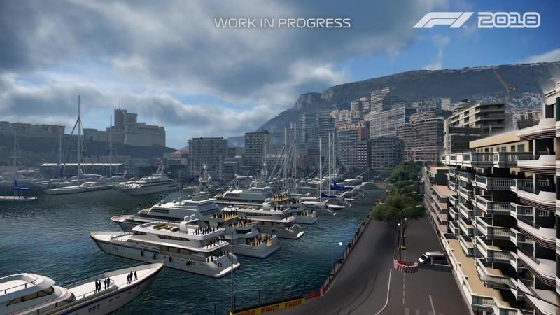 Геймплейный трейлер Шарля Лектора на трасса в Монако игры F1 2018!