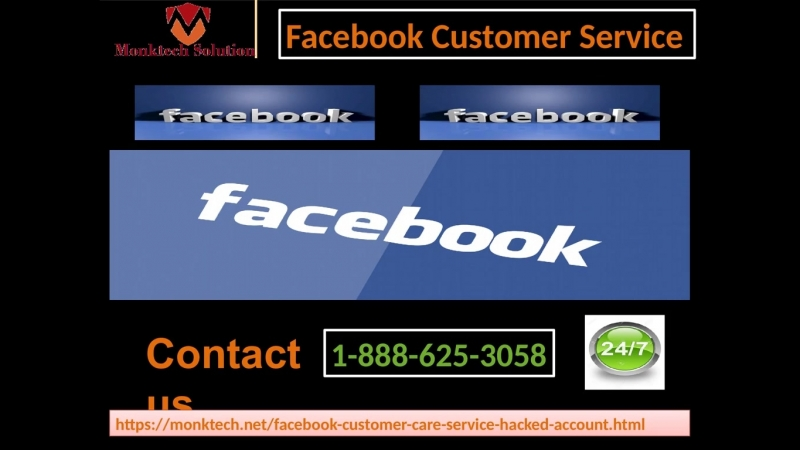 Get ready for support on toll-free 1-888-625-3058 Facebook Customer Service