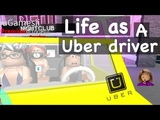 Being an Uber Taxi Driver in BloxBurg! - Roblox