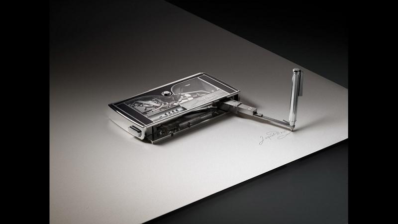 Элегантная машинка для подписи by Jaquet Droz