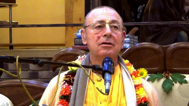 День явления Адвайты Ачарьи. Лекция Шиварама Свами и Бхакти Бринга Говинда Свами.