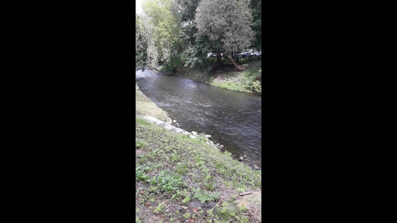 одна из рек в Vilniuse