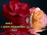 С Днём Рождения,Вика!!!