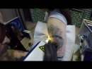 Удаляем не качественную татуировку! #ДомБолиБашня