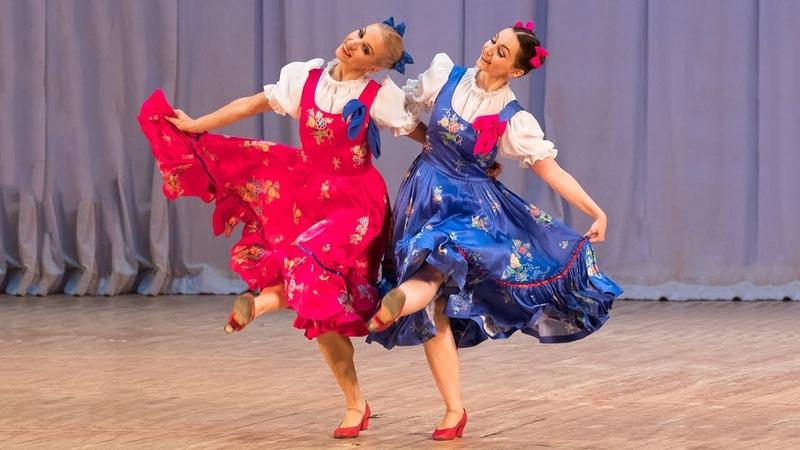 Русский танец Полянка. Балет Игоря Моисеева.