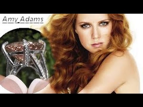 Amy Adams Rare Extra Large Morganite Diamond Ring Solid 18K Gold