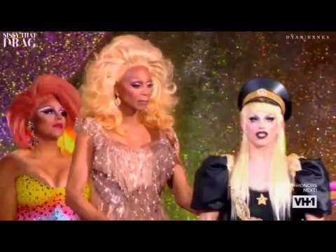 Aquaria VS Kameron Michaels VS Eureka | Bang Bang | RPDR LIPSYNC FOR THE CROWN | HD