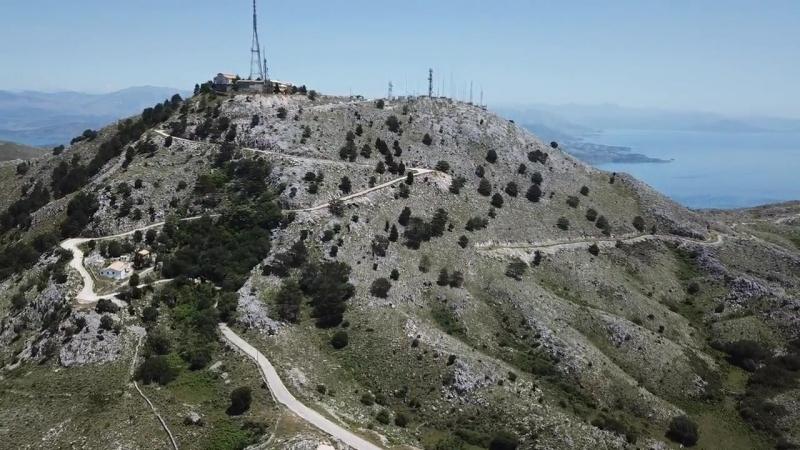 Горы Керкиры и Пантократос