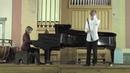 L. Spohr. Clarinet concerto №1. 1st mvt. Lev Zhuravsky - clarinet, Elena Serova - piano