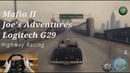 Mafia II: Joe's Adventures. Highway Racing. Logitech g29 gameplay.
