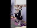 Морозова Софья и Ишмаева Александра, 8 лет. Конкурс чтецов Доброта в радость в голицынской библиотеке 6 апреля 2018.