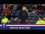 REACTION Steven Gerrard Aberdeen 1-0 Rangers