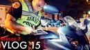 Miami Police VLOG 15 Season 3 Motorcycle at the Checkpoint влог о реальных рабочих буднях офицера полиции США Майами