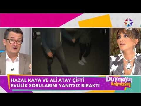 Hazal Kaya ile Ali Atay Ne Zaman Evleniyor Soruları Yanıtladılar