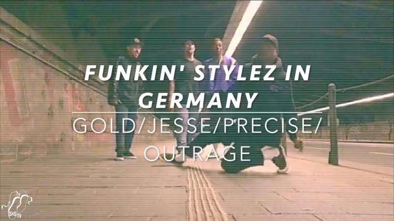 Funkin' Stylez in Germany | Gold, Jesse Sykes, Precise, Outrage | Feature 60 | SXSTV | Danceproject.info